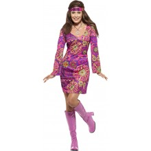 Woodstock Hippie Karnevalskostyme