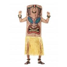 Totempåle Tiki Karnevalsdrakt