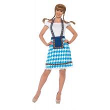 Bavarisk Jente Kostyme Oktoberfest