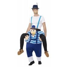 Ridende Bayersk Karnevalskostyme Oktoberfest