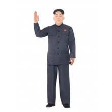 Nordkoreansk Diktator Karnevalsdrakt