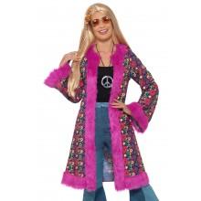 60-talls Kåpe Hippie Rosa