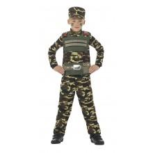 Soldat Kostyme Barn