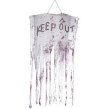 Keep Out Blodig Hengende Dekorasjon