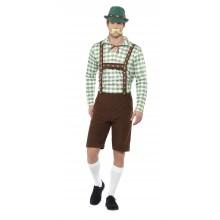 Alpe Bayersk Kostyme Oktoberfest