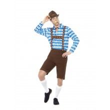 Bayersk Herre Kostyme Oktoberfest