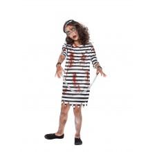 Zombie Fange Karnevalskostyme Barn