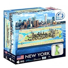 Bypuslespill 4D Mini New York