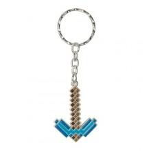 Minecraft Diamond Pickaxe Nøkkelring