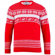 Julegenser Nordic Christmas Rød