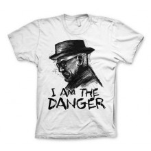 T-Skjorte Breaking Bad I Am The Danger