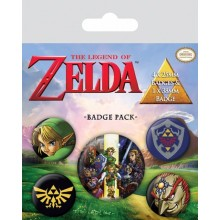 The Legend Of Zelda Pins 5 Stk.