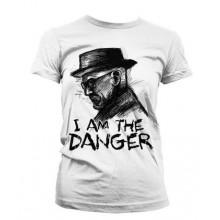 T-Skjorte Breaking Bad I Am The Danger Dame