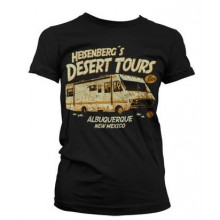 T-Skjorte Breaking Bad Desert Tours Dame