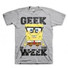 T-Skjorte Spongebob Geek Of The Week