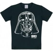 T-Skjorte Star Wars Darth Vader Barn Sort