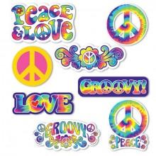 Dekoration Hippie 30-pack
