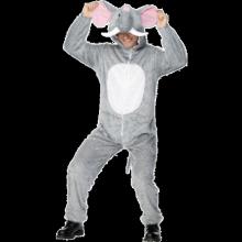 Elefant-kostyme, voksen