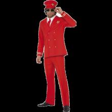 Flykaptein-kostyme, Rødt