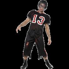 High School Horror Amerikansk Fotballspiller-Kostyme