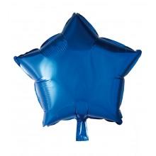 Folieballong Stjerne Blå