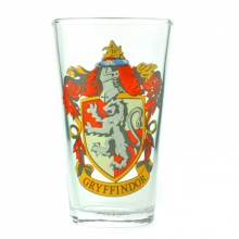 Harry Potter Gryffindor Stort Glass