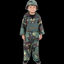Militær kostyme for barn