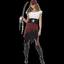 Piratkvinne-kostyme