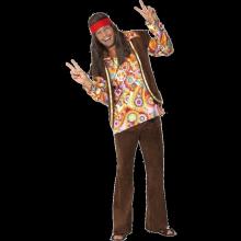 Psykedelisk 1960-talls hippie kostyme