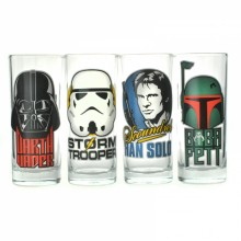 Star Wars Glass 4-pakning