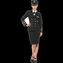 Marineoffiser-kostyme, dame