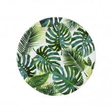 Tallerkener Palmeblad 8-pakning