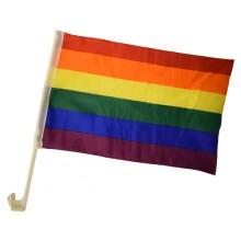 Bilflagg Pride 2-pakning