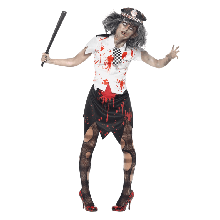 Kostyme Zombie Poltikvinne