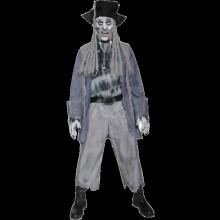 Zombie Spøkelse Pirat Kostyme