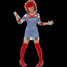 Kostyme Miss Chucky - Dame