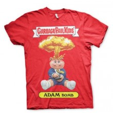 T-Skjorte Garbage Pail Kids Adam Bomb