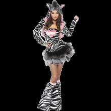 Fever Zebra-kostyme