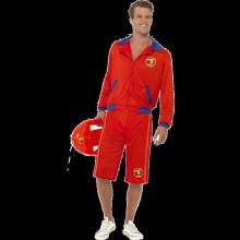 Baywatch Livvakt-kostyme Herre