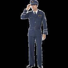 Andre verdenskrig luftforsvar kapteinuniform