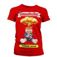 T-Skjorte Garbage Pail Kids Adam Bomb Jente