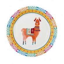 Tallerkener Boho Lama 8-pakning