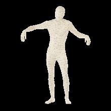 Kostyme Tettsittende Mumiedrakt