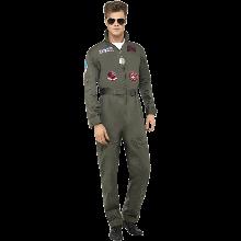Top Gun Deluxe-kostyme Herre
