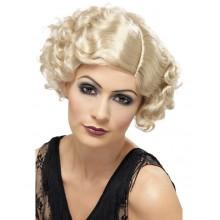 Parykk Blond 20-Tallet