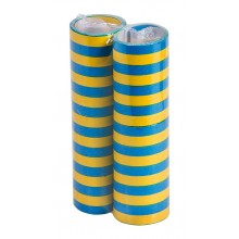Serpentin Gul/Blå 2-pakning