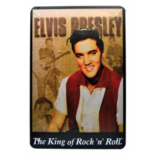 Rockabilly Metallbilde Elvis