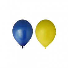 Ballonger Gul/Blå 12-pakning