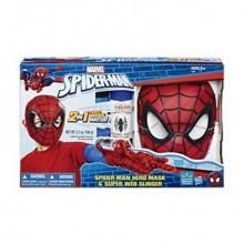 Spiderman Maske og Edderkoppnett Skyter