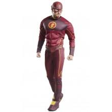 The Flash Deluxe Maskeraddräkt Vuxe